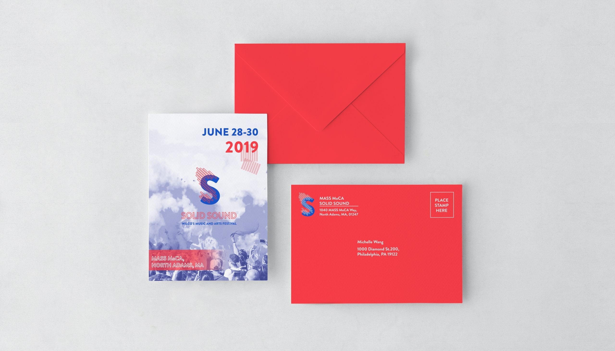 Invitation Card and Envelope